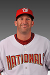 14 March 2008: ..Portrait of Tim Pahuta, Washington Nationals Minor League player at Spring Training Camp 2008..Mandatory Photo Credit: Ed Wolfstein Photo