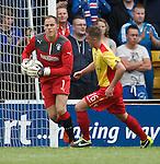 Scott Gallacher in goals