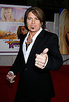"HOLLYWOOD, CA. - April 02: Billy Ray Cyrus arrives at the premiere of Walt Disney Picture's ""Hannah Montana: The Movie"" held at the El Captian Theatre on April 2, 2009 in Hollywood, California."