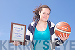 BASKETBALL AWARD: Tralee Imperials Sinead Mackessy winner of the National basketball young female player of the year...