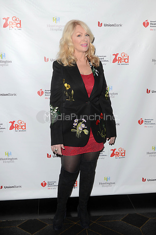 HOLLYWOOD, CA - MAY 17: Nancy Wilson at the American Heart Association's 3rd Annual Rock The Red Music Benefit at Avalon in Hollywood, California on May 17, 2018. Credit: David EdwardsMediaPunch