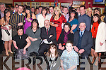 21ST CELEBRATIONS: Selena Mulvihill, Keylod, Moyvane, (standing centre) celebrated her 21st birthday with her mother Mary, father Der and grandparents Mary Ellen and Mickey Flaherty (all seated) and a large circle of friends in Christy's Well Bar, Listowel, on Saturday night.   Copyright Kerry's Eye 2008