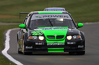 Round 9 of the 2002 British Touring Car Championship. #12 Warren Hughes (GBR). MG Sport & Racing. MG ZS.