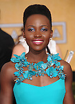 Lupita Nyong'o   at The 20th SAG Awards held at The Shrine Auditorium in Los Angeles, California on January 18,2014                                                                               © 2014 Hollywood Press Agency