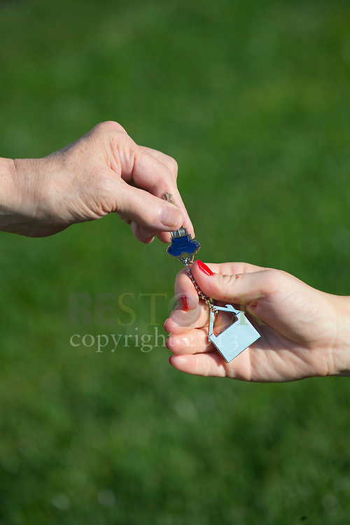 Receiving Key to New Home