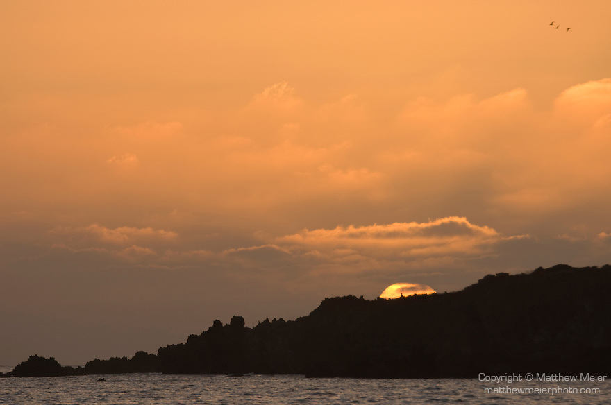 Socorro Island, Revillagigedos Islands, Mexico; sunset , Copyright © Matthew Meier, matthewmeierphoto.com All Rights Reserved