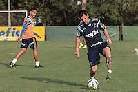 SÃO PAULO,SP, 12.11.2015 - FUTEBOL-PALMEIRAS -  Mouche durante treino na Academia de Futebol na Barra Funda região oeste de São Paulo na tarde desta quinta-feira (12). (Foto: Marcio Ribeiro/Brazil Photo Press)