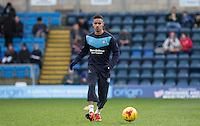 Paris Cowan-Hall of Wycombe Wanderers warms up during the Sky Bet League 2 match between Wycombe Wanderers and Leyton Orient at Adams Park, High Wycombe, England on 23 January 2016. Photo by Andy Rowland / PRiME Media Images.