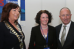 Patricia Rooney, Drogheda Chamber, Margaret Cranney, FAS Dundalk and Minister Dermot Ahern at the Scotch Hall Jobs Fair...Photo NEWSFILE/Jenny Matthews.(Photo credit should read Jenny Matthews/NEWSFILE)....This Picture has been sent you under the condtions enclosed by:.Newsfile Ltd..The Studio,.Millmount Abbey,.Drogheda,.Co Meath..Ireland..Tel: +353(0)41-9871240.Fax: +353(0)41-9871260.GSM: +353(0)86-2500958.email: pictures@newsfile.ie.www.newsfile.ie.FTP: 193.120.102.198.