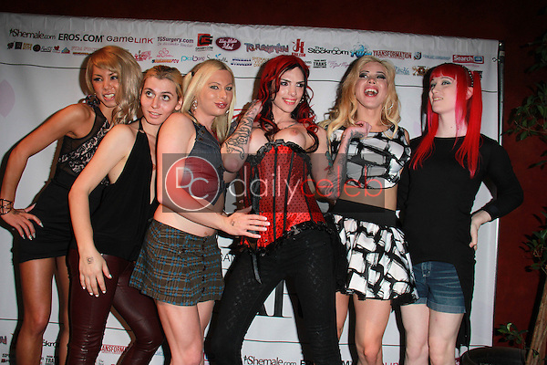 Miran, Korra Del Rio, Eva Cassini, Chelsea Marie, Laela Knight, Mayumi<br />
