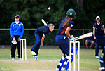 Action from the the New Zealand Secondary Schools 1st XI NZCT girls' cricket national finals match between Christchurch GHS and New Plymouth GHS at Fitzherbert Park in Palmerston North, New Zealand on Sunday, 3 December 2017. Photo: Dave Lintott / lintottphoto.co.nz