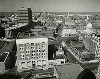 1960 March 21..Redevelopment.Downtown North (R-8)..Downtown Progress..North View from VNB Building..HAYCOX PHOTORAMIC INC..NEG# C-60-5-25.NRHA#..