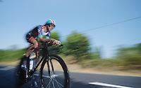 Jens Voigt (DEU)<br /> <br /> Tour de France 2013<br /> stage 11: iTT Avranches - Mont Saint-Michel <br /> 33km