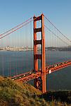 Golden Gate Bridge from Marin Headlands, GGNRA