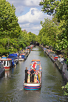 United Kingdom, London: Regent's Canal viewed from Warwick Avenue | Grossbritannien, England, London: Blick von der Warwick Avenue auf den Regent's Canal