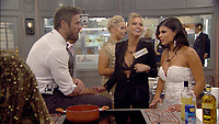 Celebrity Big Brother 2017<br /> Chad Johnson, Sarah Harding, Marissa Jade<br /> *Editorial Use Only*<br /> CAP/KFS<br /> Image supplied by Capital Pictures