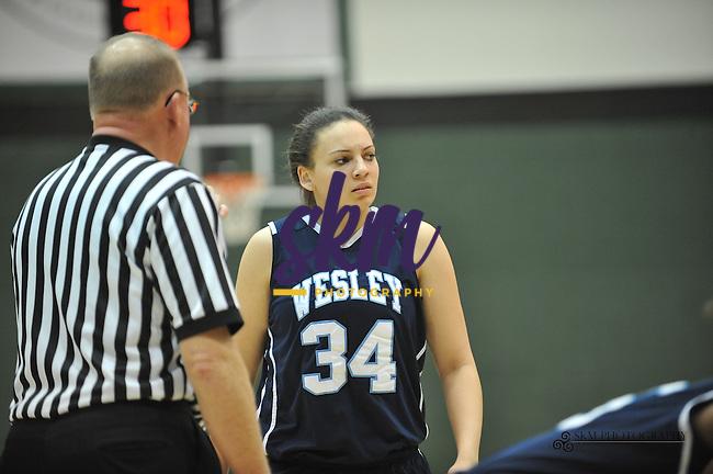 Women Mustangs trounced the Wesley Wolverines 63 - 42.