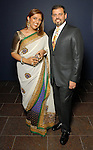 Nidhika and Pershant Mehta at the Arts of India Gallery launch party at the Museum of Fine Arts Houston Thursday May 14,2009.(Dave Rossman/For the Chronicle)