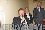 Health Minister, James Reilly, speaking at the turning of the sod for Kenmare Hospital last Friday.