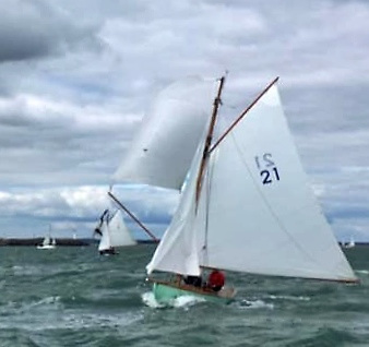 Orla was built in 2018 in France using a boatbuilding school scheme. Owned by Ian Malcolm, she is currently raced by Gerry Comerford