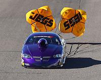Feb 24, 2017; Chandler, AZ, USA; NHRA top sportsman driver Paul Mitsos during qualifying for the Arizona Nationals at Wild Horse Pass Motorsports Park. Mandatory Credit: Mark J. Rebilas-USA TODAY Sports