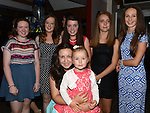 Megan Reilly and all her friends pictured at Lyndsey Reilly's 18th birthday in the Trinity Arms. Photo:Colin Bell/pressphotos.ie