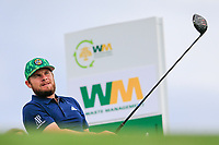 Tyrrell Hatton (ENG) on the 10th tee during the 3rd round of the Waste Management Phoenix Open, TPC Scottsdale, Scottsdale, Arisona, USA. 02/02/2019.<br /> Picture Fran Caffrey / Golffile.ie<br /> <br /> All photo usage must carry mandatory copyright credit (© Golffile | Fran Caffrey)