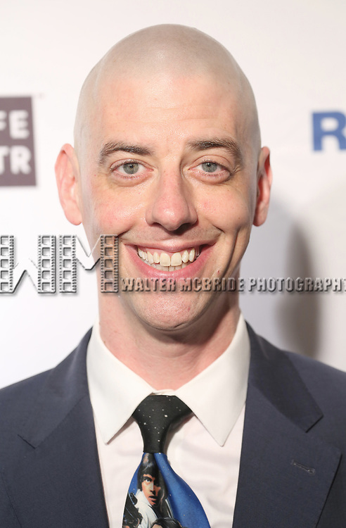 Christian Borle attends the 83rd Annual Drama League Awards Ceremony  at Marriott Marquis Times Square on May 19, 2017 in New York City.