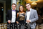 At the Austin Stacks Centenary Gala Dinner in the Rose Hotel on Saturday were Sean Ryan, Saoirse Coffey, Fergal Ryan