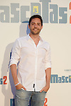 David Guapo during Premiere Mascotas 2 at Autocine Madrid Race on July 18, 2019 in Madrid, Spain.<br />  (ALTERPHOTOS/Yurena Paniagua)