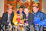 Pictured at the launch of the RNLI Reindeer Run in the Killarney Plaza on Thursday night were Roland Blennerhassett, Mike McDonnell, Colm Cooper and Richard Quigley.