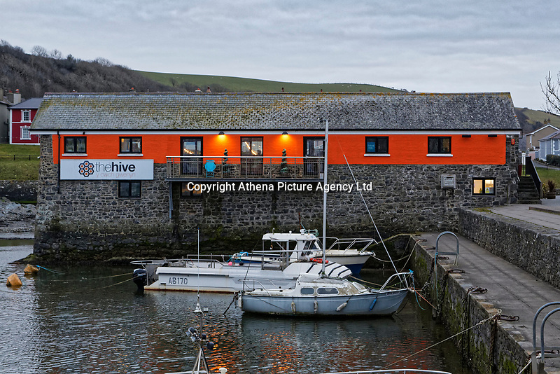 The Hive in Aberaeron, Ceredigion, Wales, UK. Wednesday 21 March 2018