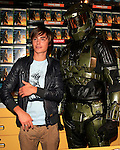 Zac Efron hosts the Halo 3 launch event at GameStop at Universal City, Los Angeles, California on September 24, 2007. Photo by Nina Prommer/Milestone Photo.