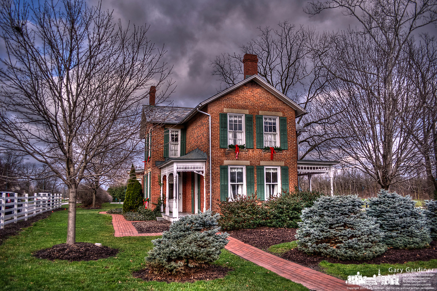 Exterior HDR photo of Everal home at Heritage Park in Westerville Ohio.