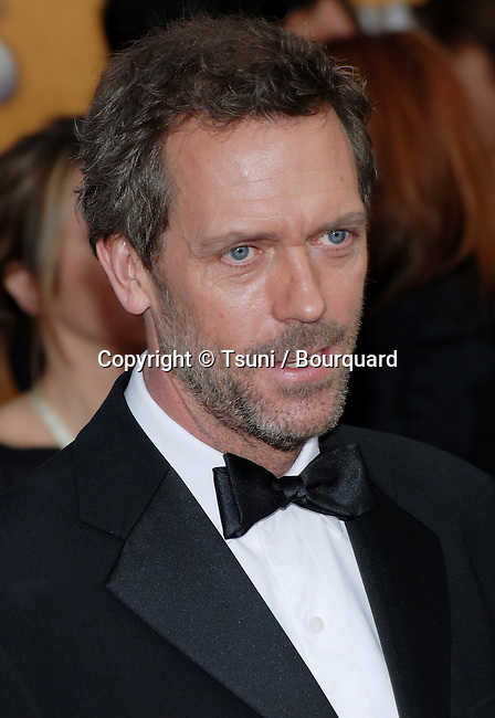Hugh Laurie arriving at the SAG Awards at the Shrine Auditorium in Los Angeles. January 28, 2007.<br /> <br /> headshot
