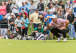 CROMWELL, CT. 20 June 2019-062019 - PGA Tour player Francisco Molinari looks over his par put-on the fourth hole, during the first round of the Travelers Championship at TPC River Highlands in Cromwell on Thursday. Bill Shettle Republican-American