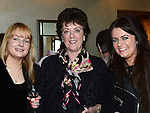 Anna Callaghan, Irene and Dara Woods pictured at the Women In Sport Lunch at City North Hotel. Photo:Colin Bell/pressphotos.ie