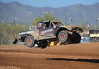 Apr 16, 2011; Surprise, AZ USA; LOORRS driver Austin Kimbrell (88) during round 3 at Speedworld Off Road Park. Mandatory Credit: Mark J. Rebilas-.
