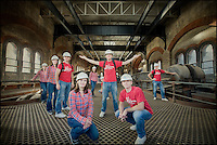 Multiplicity self portrait with Mark at Crossness Pumping Station, Abbey Wood http://www.vivecakohphotography.co.uk/2011/09/20/crossness-pumping-station/