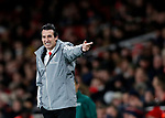 Arsenal's Unai Emery during the UEFA Champions League match at the Emirates Stadium, London. Picture date: 28th November 2019. Picture credit should read: David Klein/Sportimage
