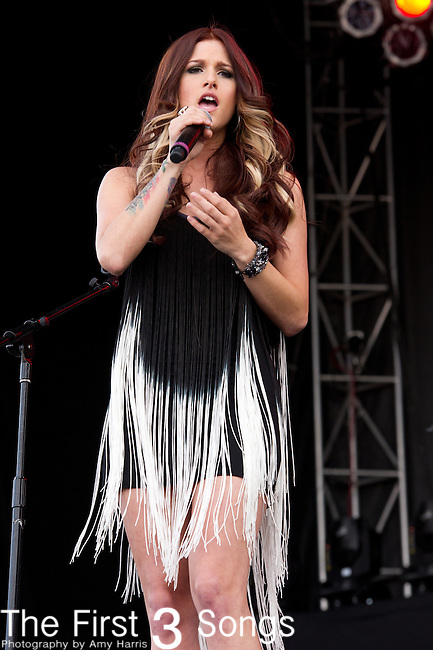 Cassadee Pope performs at the ACM Party for a Cause Festival during The ACM Experience at The Orleans Hotel & Casino on April 5, 2013.