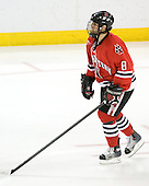 Bryan Esner (Northeastern - 8) - The Boston College Eagles defeated the visiting Northeastern University Huskies 7-1 on Friday, March 9, 2007, to win their Hockey East quarterfinals matchup in two games at Conte Forum in Chestnut Hill, Massachusetts.