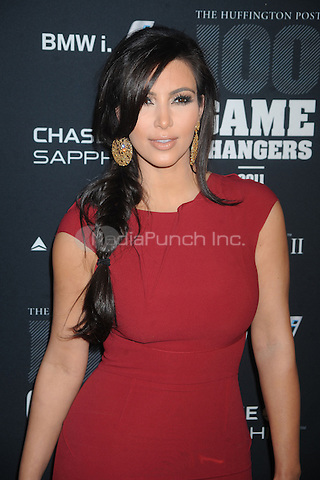 Kim Kardashian at the 2011 Game Changers Awards at Skylight SOHO on October 18, 2011 in New York City. Credit: Dennis Van Tine/MediaPunch