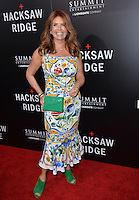 LOS ANGELES, CA. October 24, 2016: Actress Roma Downey at the Los Angeles premiere of &quot;Hacksaw Ridge&quot; at The Academy's Samuel Goldwyn Theatre, Beverly Hills.<br /> Picture: Paul Smith/Featureflash/SilverHub 0208 004 5359/ 07711 972644 Editors@silverhubmedia.com