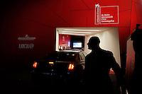 Venezia: automobili all'ingresso del red carpet, durante la sessantottesima edizione della mostra del cinema di Venezia