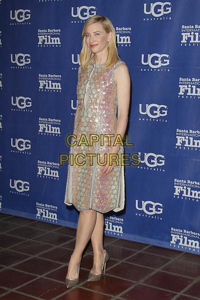 1 February 2014 - Santa Barbara, California - Cate Blanchett. Cate Blanchett honoured with Outstanding performer of the year award, 29th Santa Barbara International Film Festval Held At The Arlington Theatre, Santa Barbara, California, USA. <br /> CAP/ADM/FS<br /> &copy;Faye Sadou/AdMedia/Capital Pictures