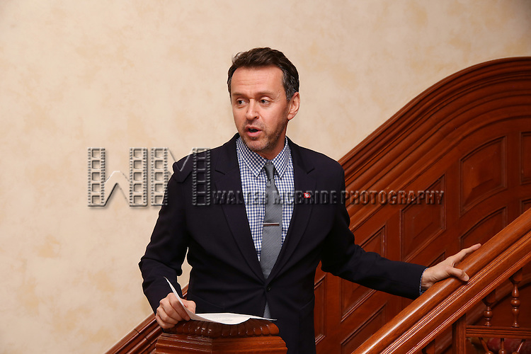 Andrew Lippa during the Dramatists Guild Fund intimate salon with Benj Pasek and Justin Paul at the home of Kara Unterberg on March 7, 2016 in New York City.