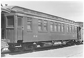 Business car B-2 (2nd).<br /> D&amp;RGW