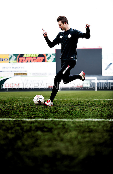 Belgian football player Jens Naessens (Belgium, 12/02/2013)