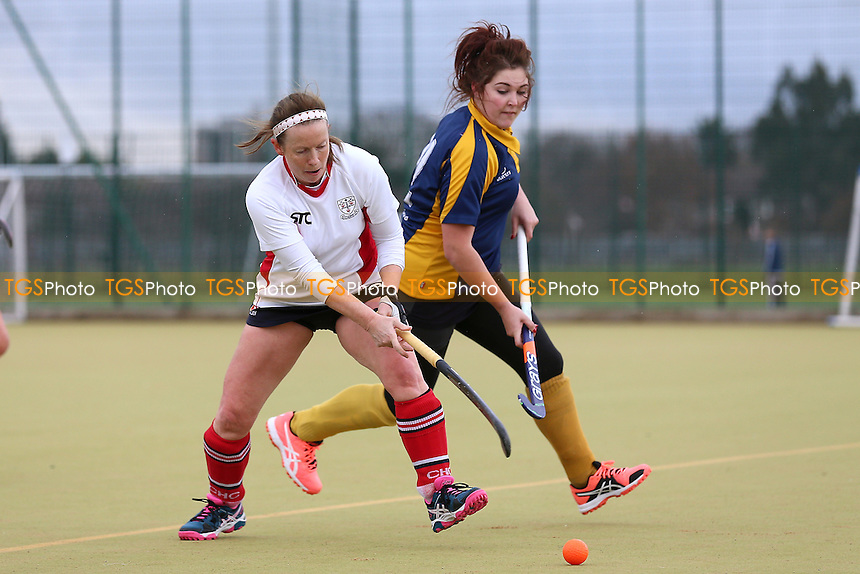 Romford HC Ladies vs Colchester HC Ladies 3rd XI, Essex Women's League Field Hockey at the Robert Clack Leisure Centre on 14th January 2017